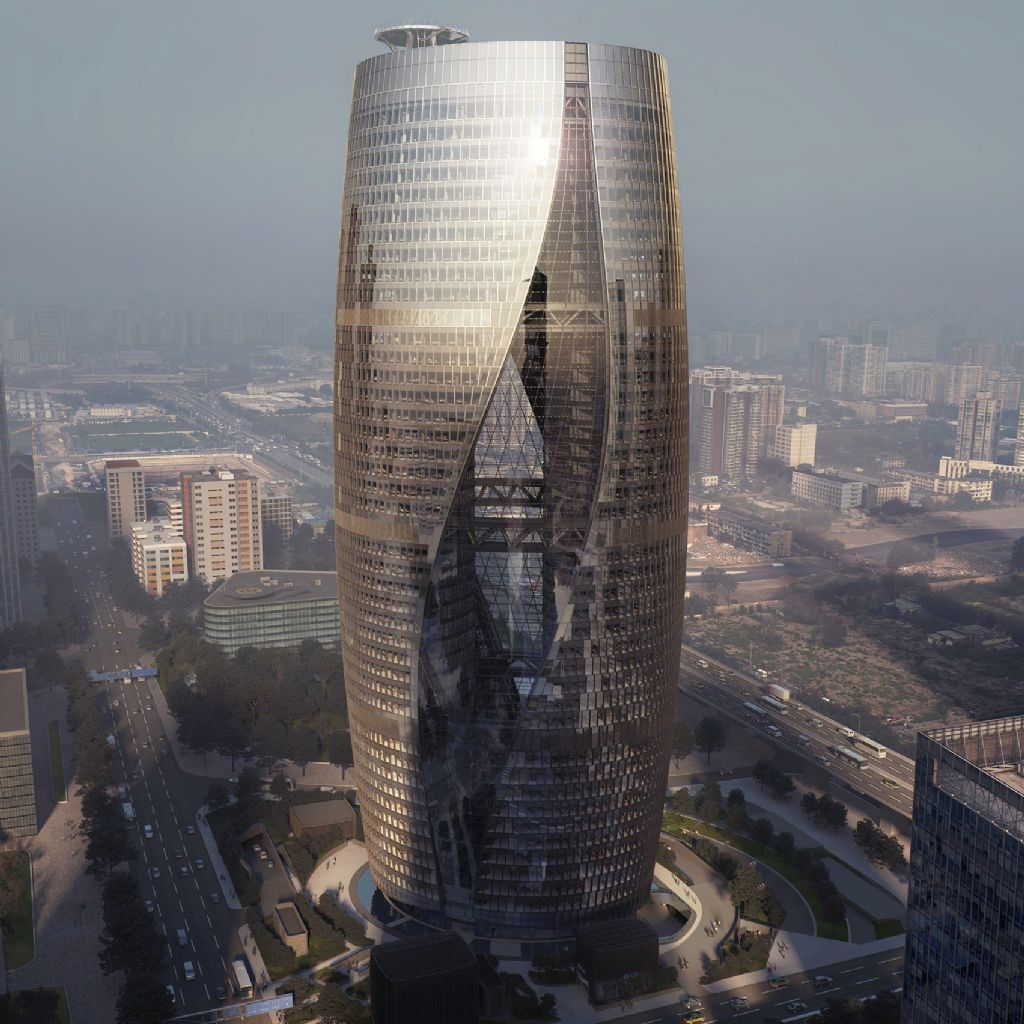 Leeza Soho Tower - China