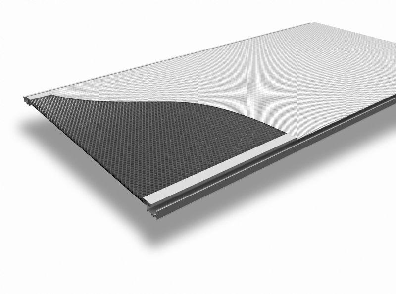 Hunter Douglas lance des panneaux acoustiques pour plafonds extra rigides
