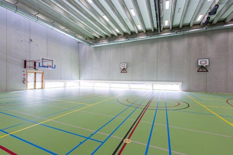 Sportzaal.
