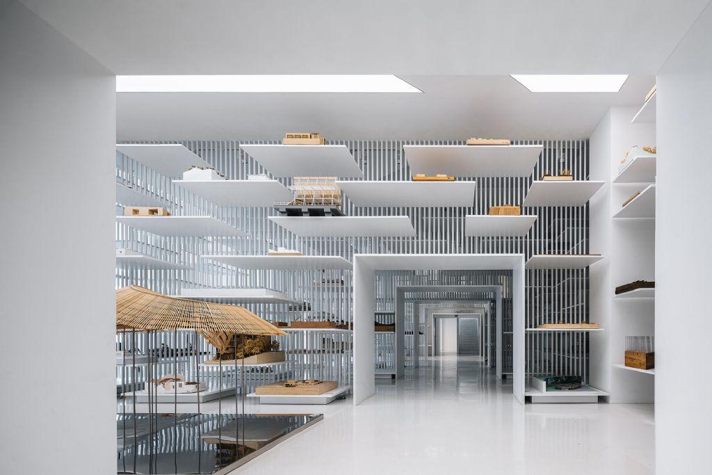 A Shangaï, un musée met en valeur des maquettes d'architectes