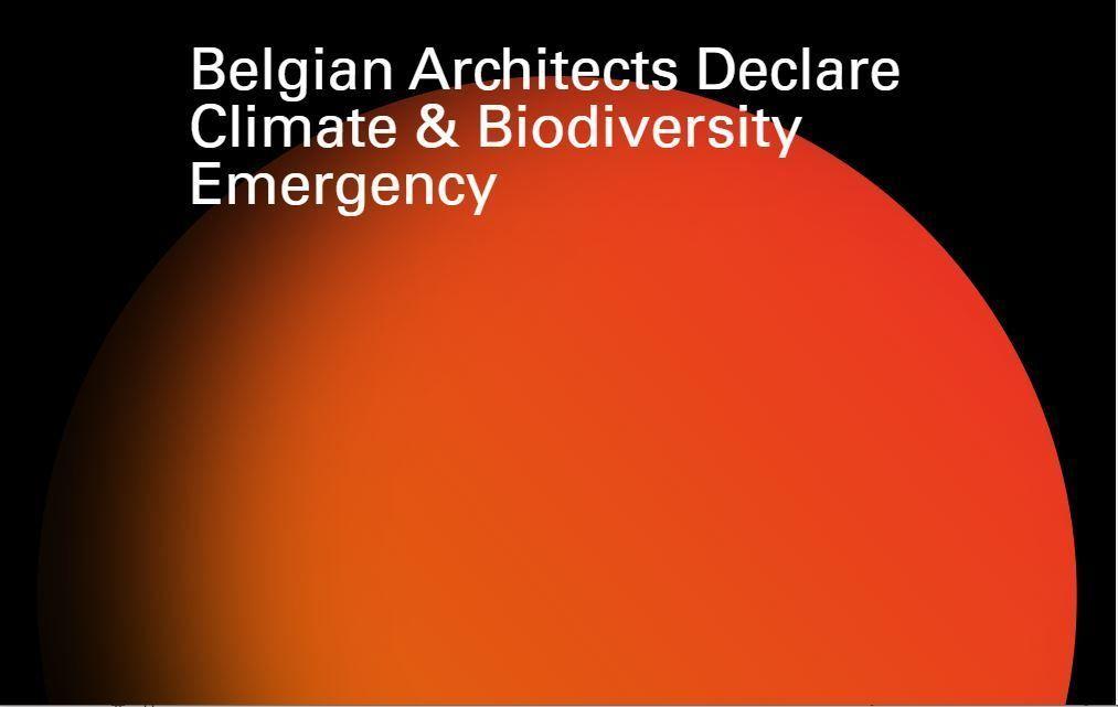 Al 287 handtekeningen onder manifest Belgian Architects Declare
