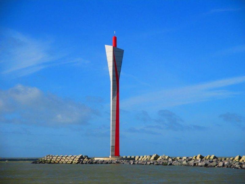 De nieuwe radartoren in Oostende: een huzarenstukje in prefabbeton