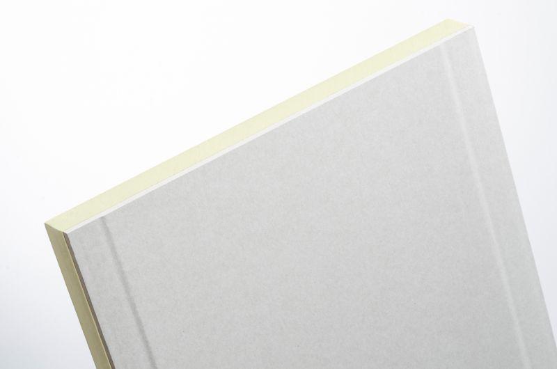 Knauf InTherm PUR, nouvelle plaque de plâtre avec une couche isolante