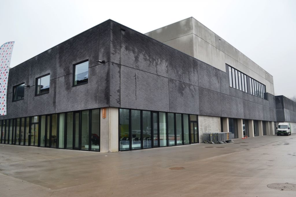 De oude leerlooierij Schotte in Aalst heeft plaats geruimd voor een gloednieuw sportcomplex.