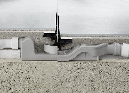 Het renovatiemodel van Advantix Vario met lage opbouwhoogte en 360° draaibaarheid voor aansluiting.