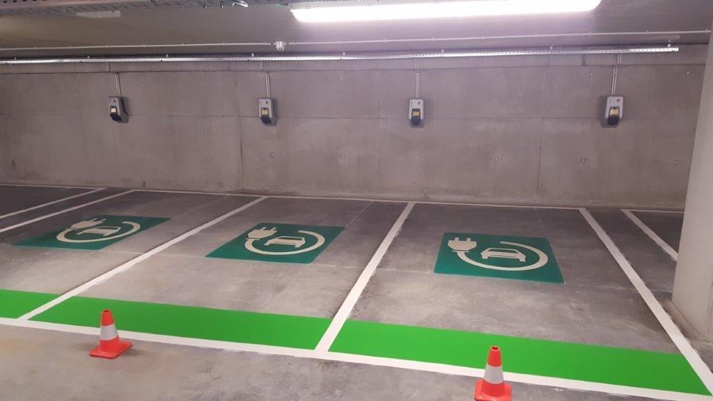 Ondergrondse parking AZ Groeninge in gebruik genomen