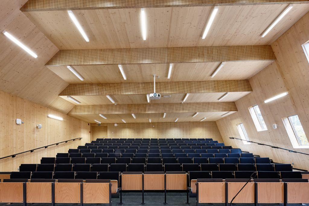Aula HO Gent: eerste houten hogeschoolgebouw van België