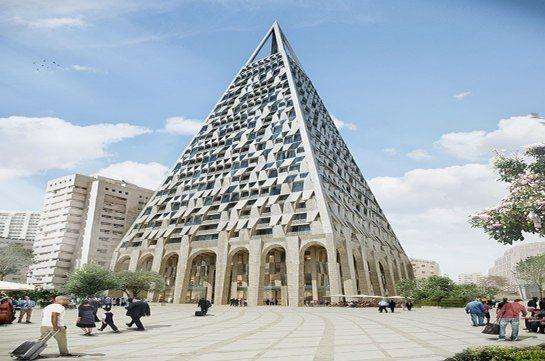 Het gebouw, dat 26 verdiepingen zal tellen, komt naast de Mahane Yehuda-markt in het centrum van de stad te staan.