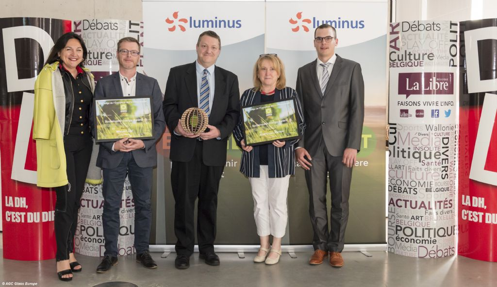 Fineo d'AGC, lauréat du 'Sustainable Energy Award'