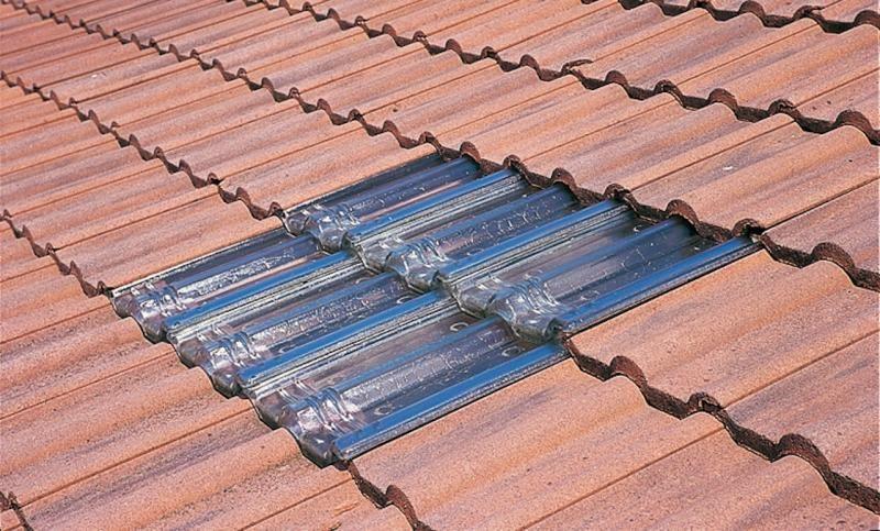 De voordelen van glazen dakpannen