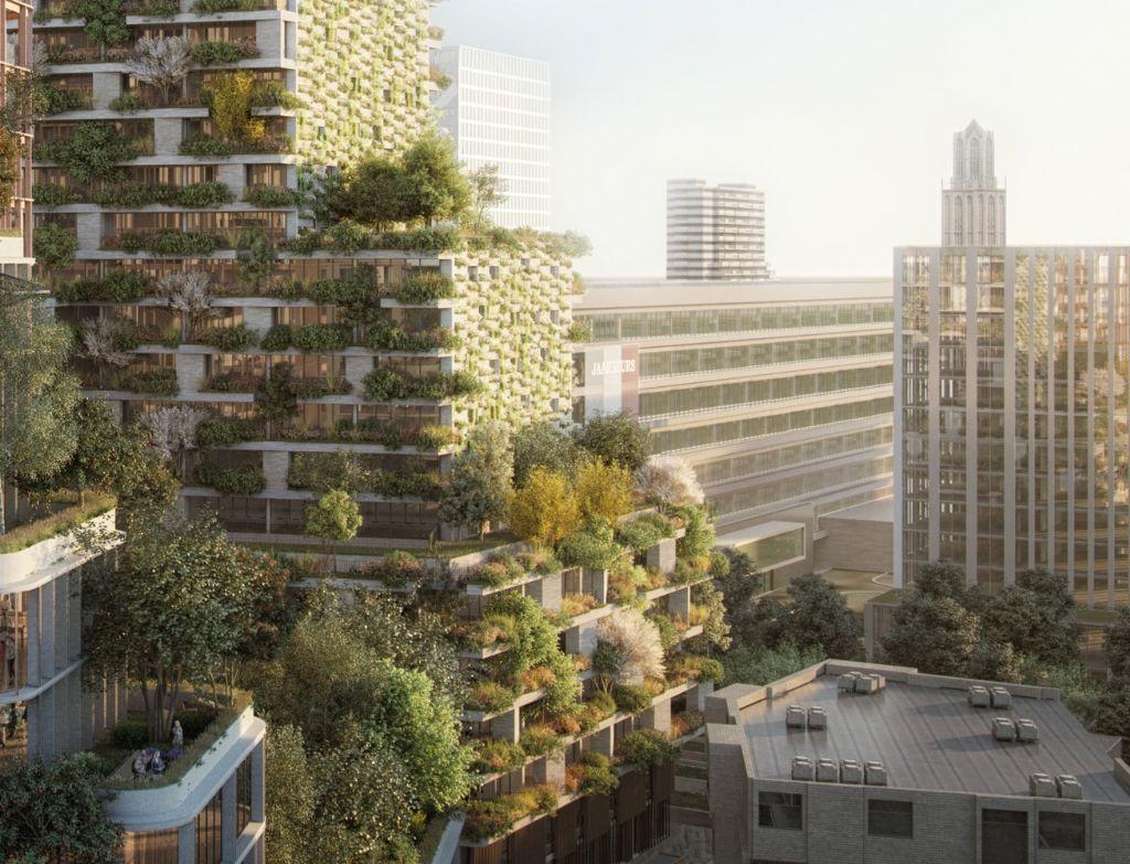 Utrecht krijgt 'verticaal bos' van Stefano Boeri Architetti
