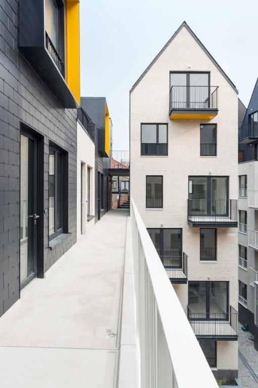 Het project bestrijkt 6.000 m², waarop acht nieuwe gebouwen met een rijke variatie aan wooneenheden neergepoot zijn: 22 studentenwoningen, 29 een-, twee- of drieslaapkamerappartementen en twee eengezinswoningen.