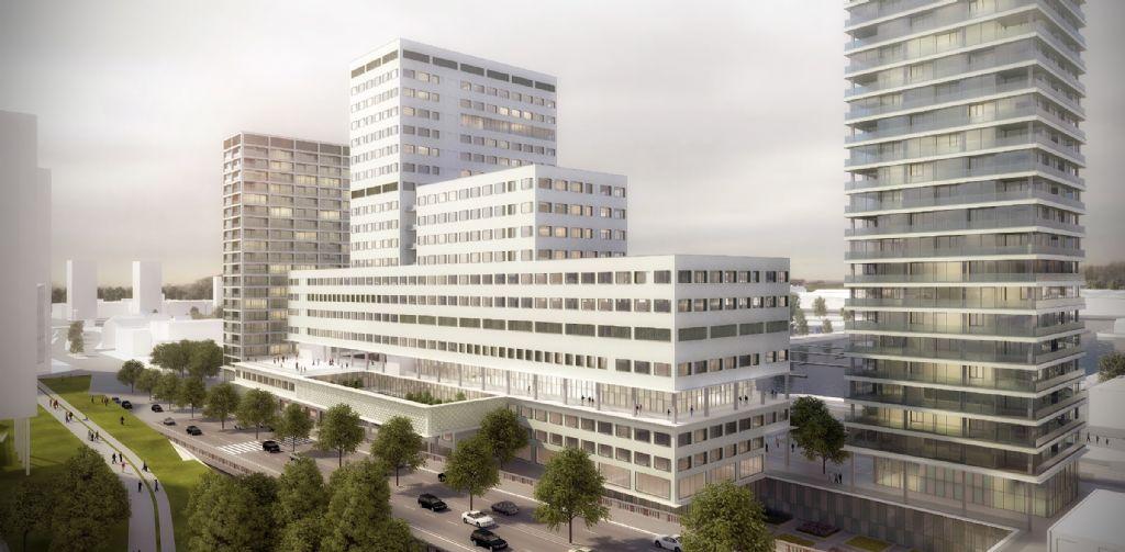 A Anvers, un nouvel hôpital ancré dans le tissu urbain