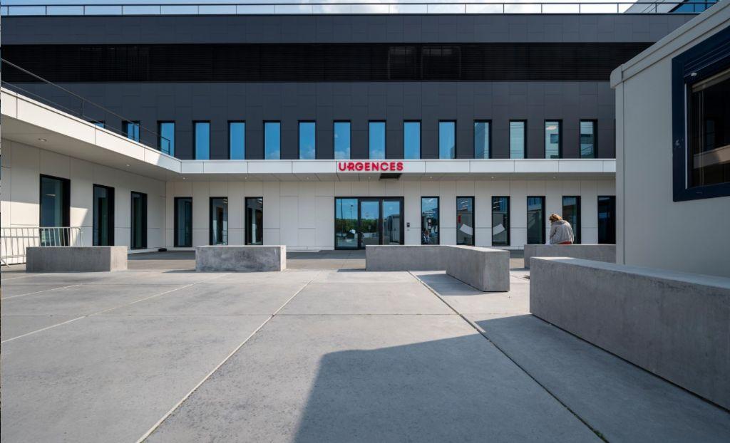 La toiture de la Clinique du MontLégia particulièrement bien exploitée
