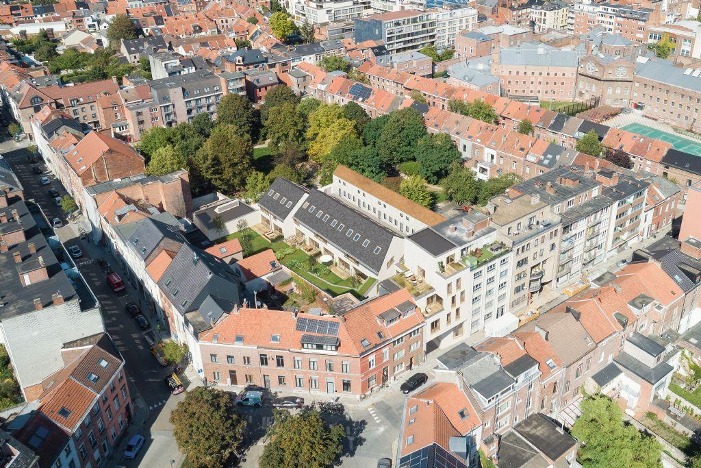 Mertens-architecten ontwerpt nieuwbouwproject Walque in the Park in centrum Leuven