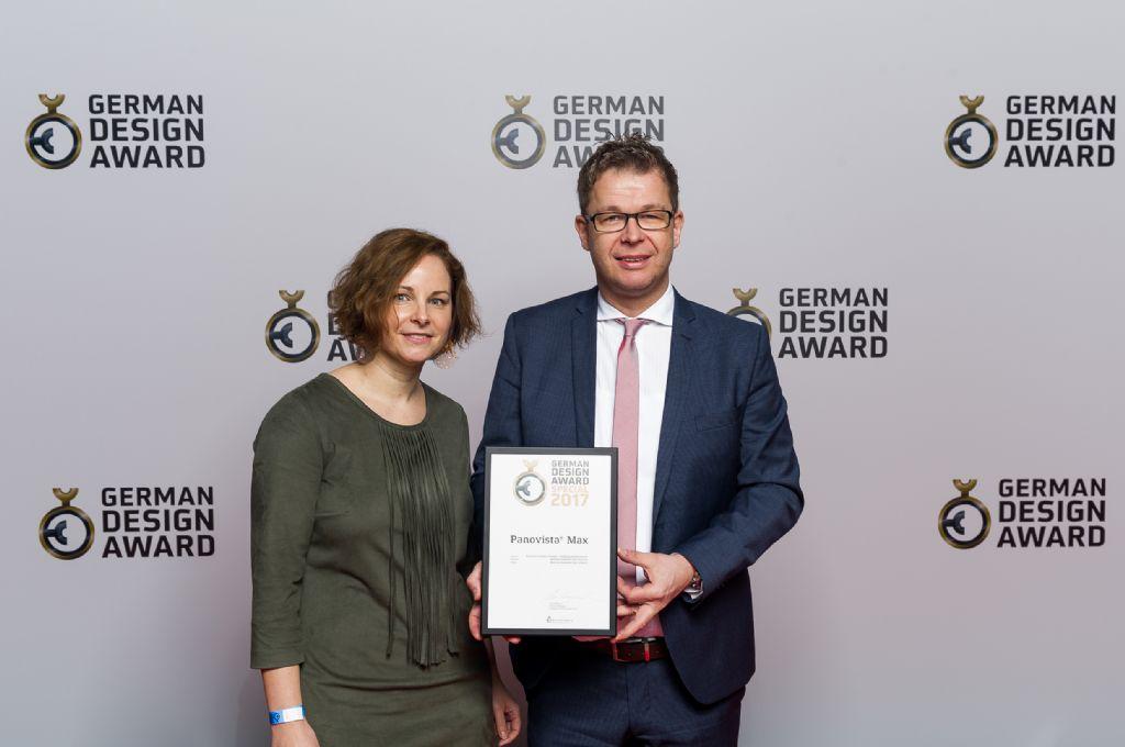 Renson Panovista Max bekroond met German Design Award Special 2017