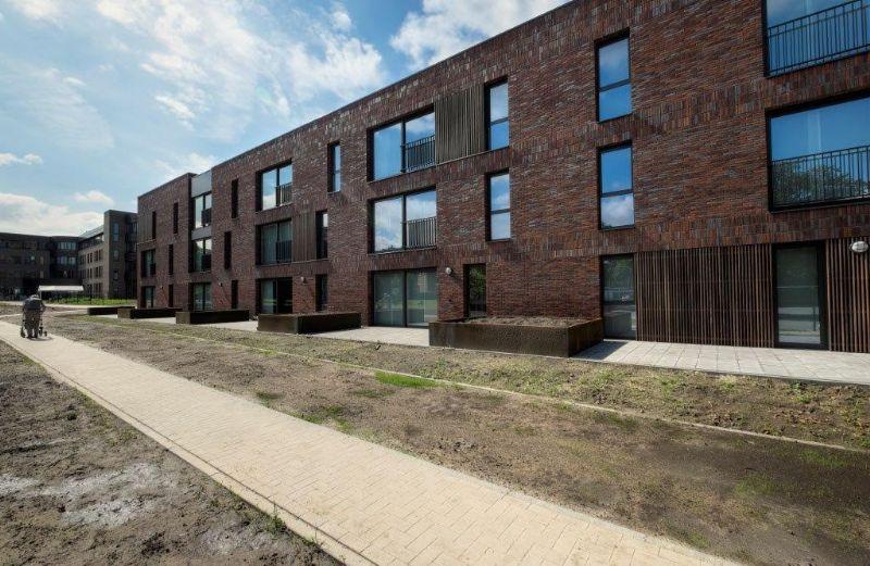 Iedere woning geniet optimaal van de rust, de groene omgeving en het daglicht.