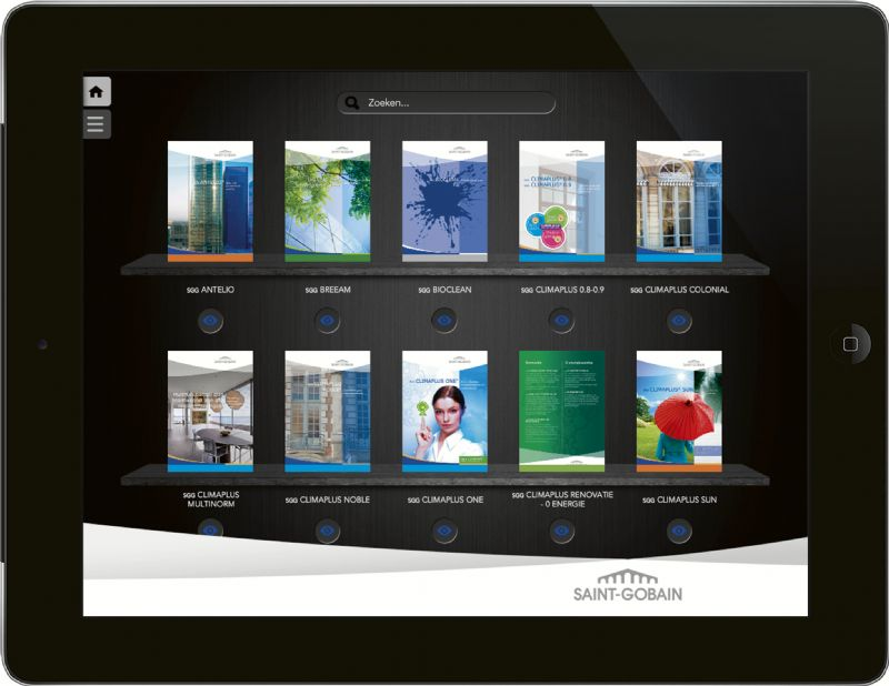 De GLASS App van Saint-Gobain Glass