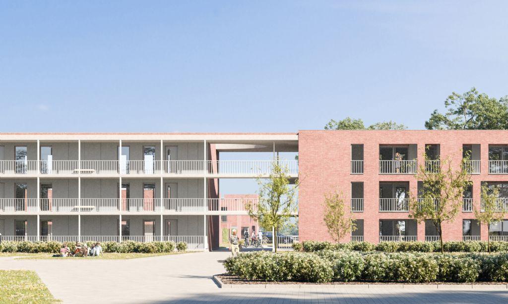 WAW architects tekent sociale duurzame woningen voor tuinwijk Otterbeek in Mechelen