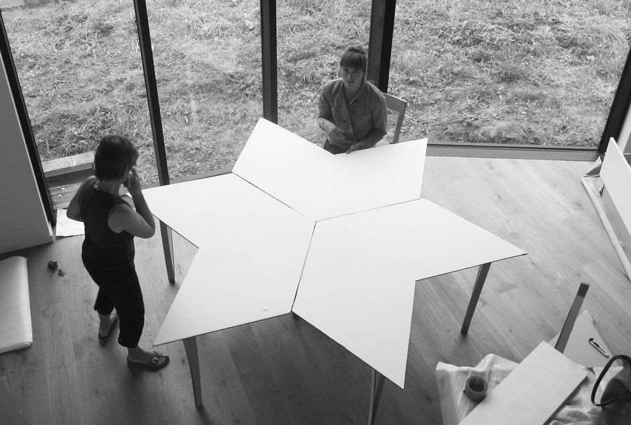 Modulaire tafel MADAM architectuur