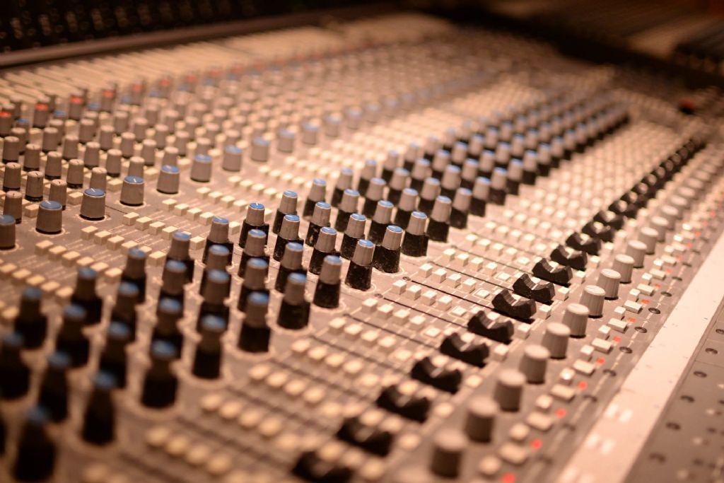Excellentes propriétés acoustiques pour la porte de ce studio d'enregistrement