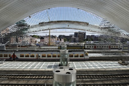 Station Luik - Guillemins officieel geopend