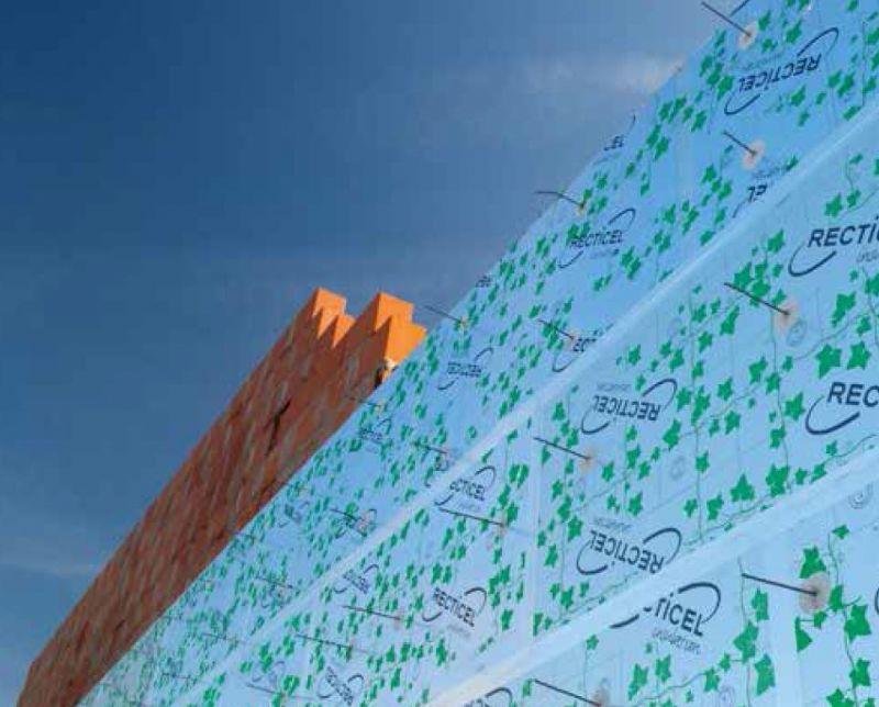 Recticel présente Eurowall 21, un panneau isolant ultra mince pour mur creux