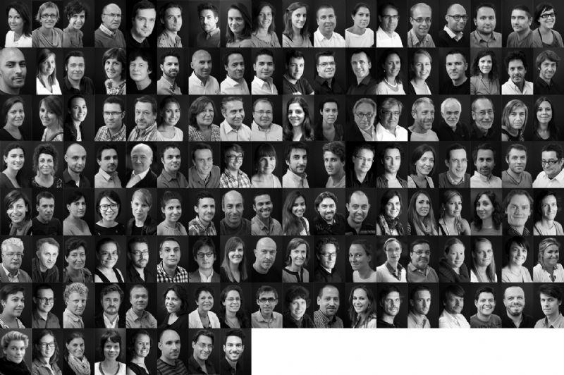 Het team van BURO II & ARCHI+I
