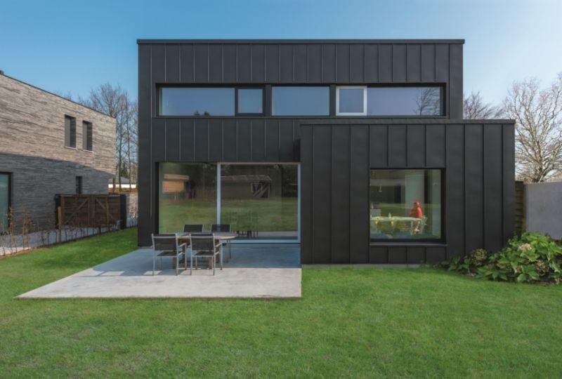Recticel Insulation et VMZINC contribuent à l'exemple d'une construction économe en énergie