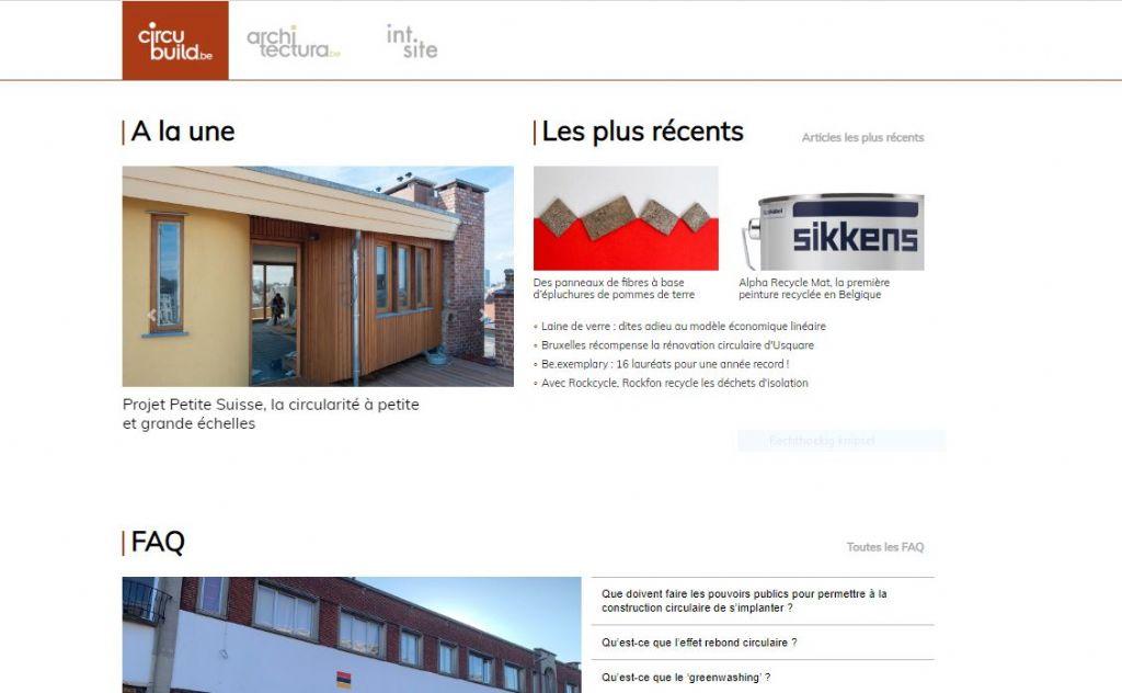 circubuild.be, LE site consacré à la construction circulaire, est en ligne !