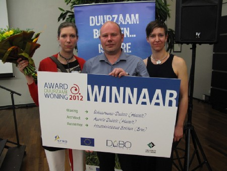 Winnaars Award Duurzaam Bouwen 2012
