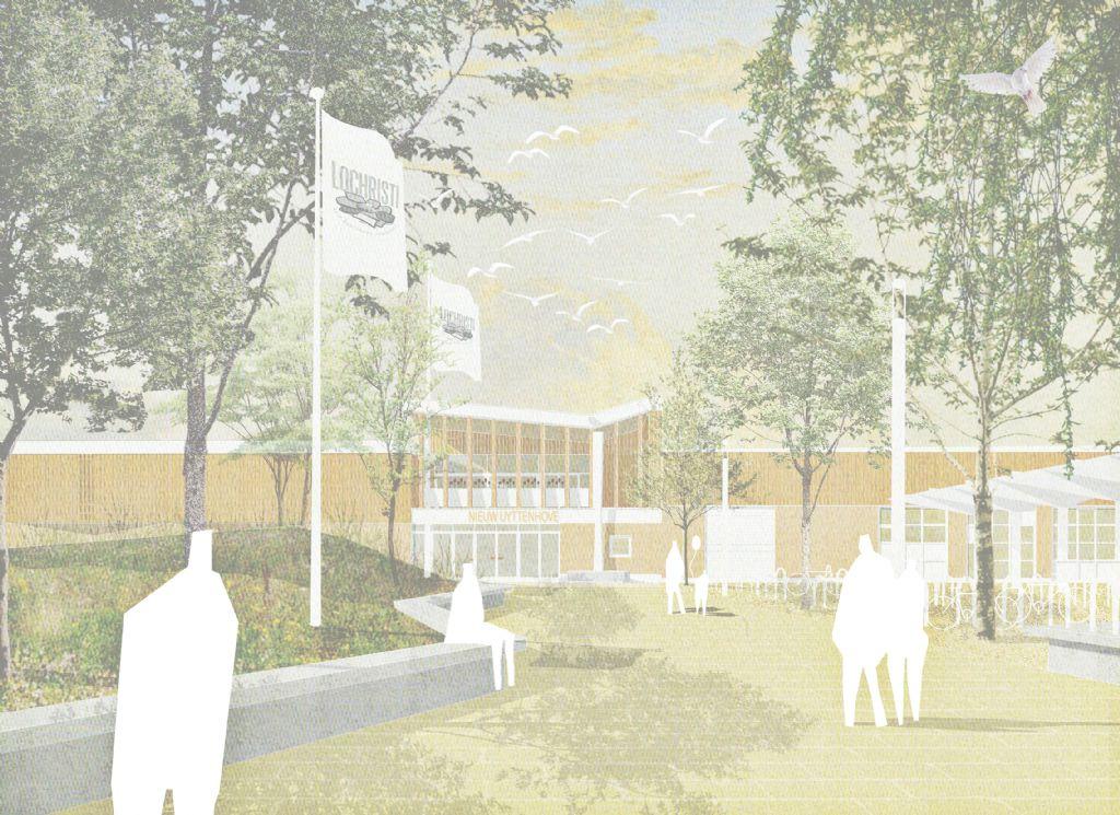 BULK architecten ontwerpt polyvalent centrum voor Lochristi