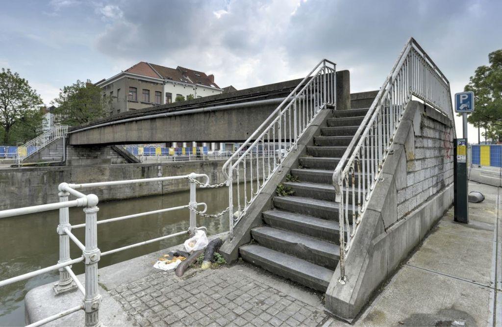 Destruction expérimentale de la première passerelle belge en béton précontraint