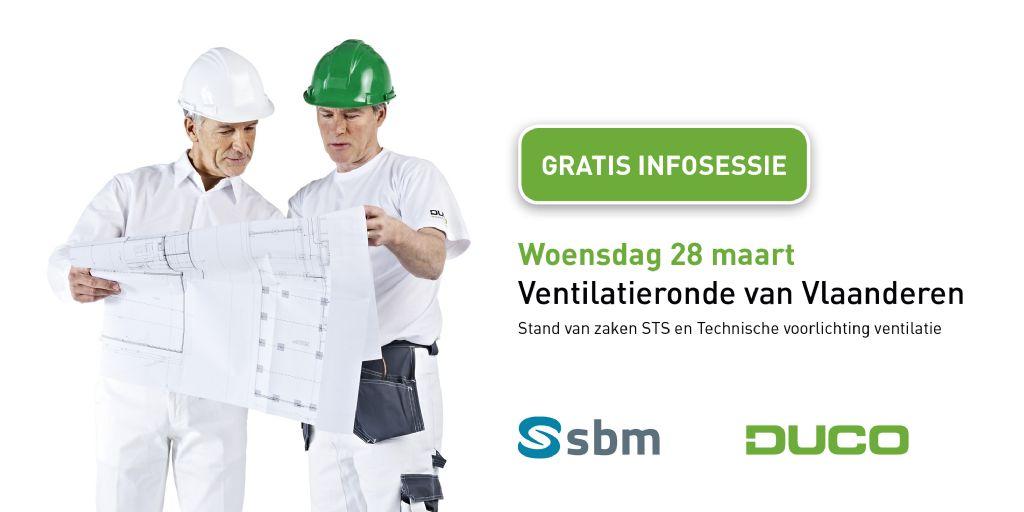 Duco organiseert infosessie 'Ventilatieronde van Vlaanderen'