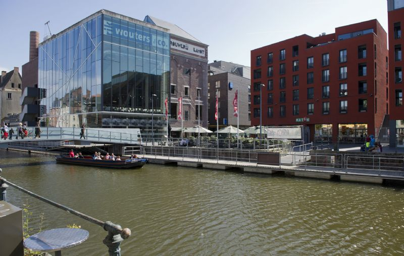 Stad aan het water: Lamot te Mechelen