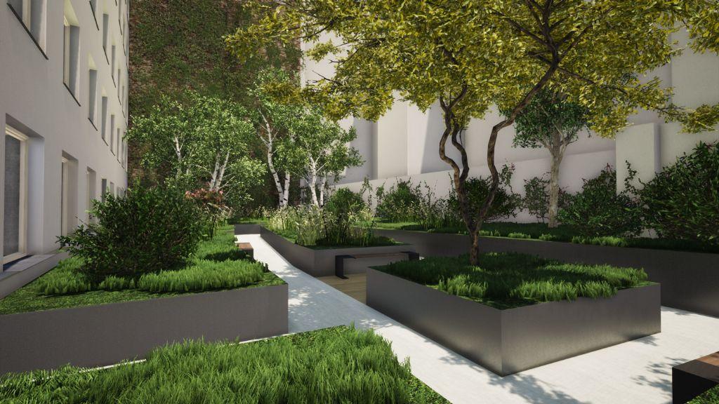 De gezellige tuin