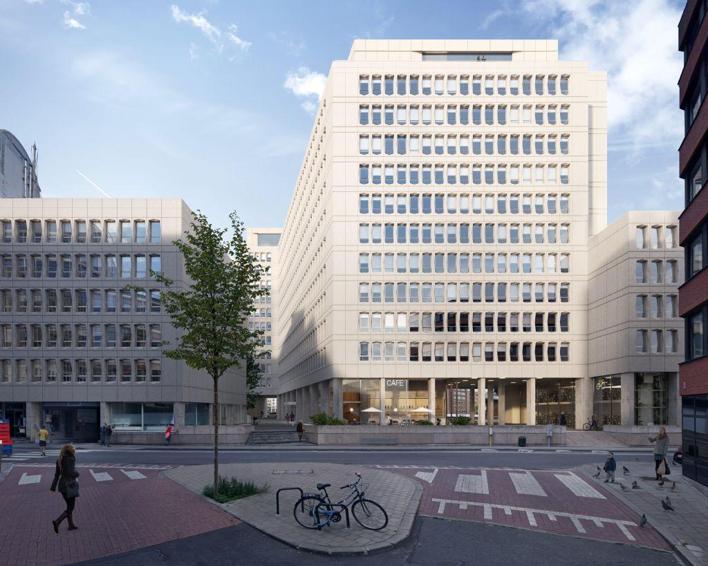 Ontwerpteam TRANS-Util-CES geeft iconisch Aarlen-Triergebouw in Europese wijk duurzame toekomst