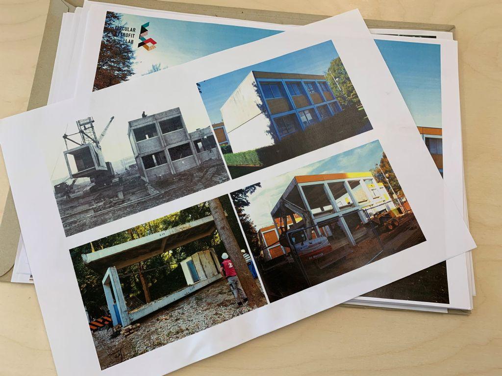 Foto's van het project bij aanvangsfase.
