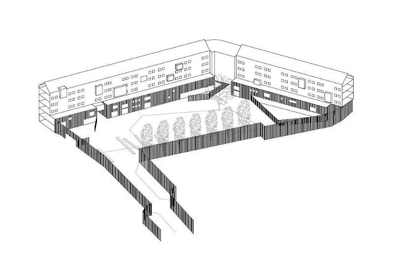 Raté de peu : Projet Deswaef-Debatty à Anderlecht (RESERVOIR A)
