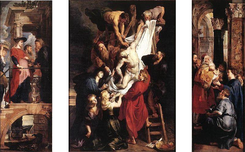 De Kruisafneming door Rubens.