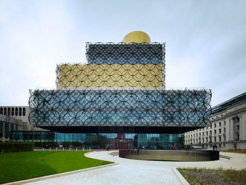 Library of Birmingham van Mecanoo.