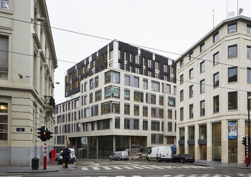 Brussels nul-energiekantoor is meest vernieuwende ecologische gebouw