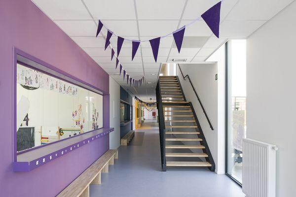 Styfhals realiseerde uitbreiding Basisschool de Toverberg in Kampenhout