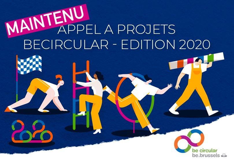 BeCircular 2020 : l'appel à projets est maintenu
