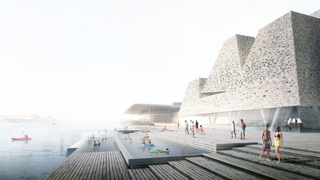 Kengo Kuma ontwerpt watersportcentrum in Kopenhagen