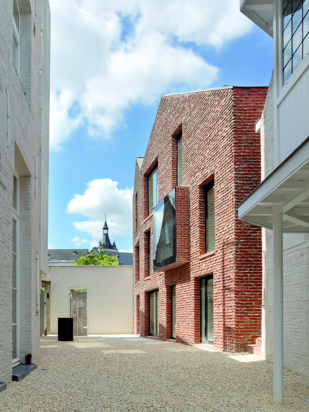 Eervolle vermelding in de categorie New Way of Living: Site Apostolinnen, Mechelen, dmvA