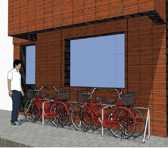 BIKE-UP: een fietsbergingssysteem in de hoogte om meer mensen op de fiets te krijgen