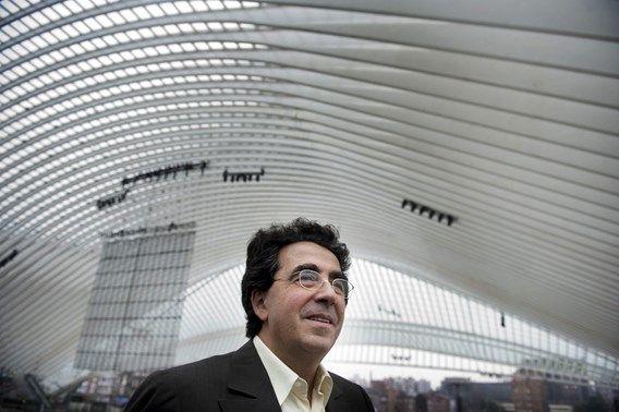 Calatrava in het station van Luik.