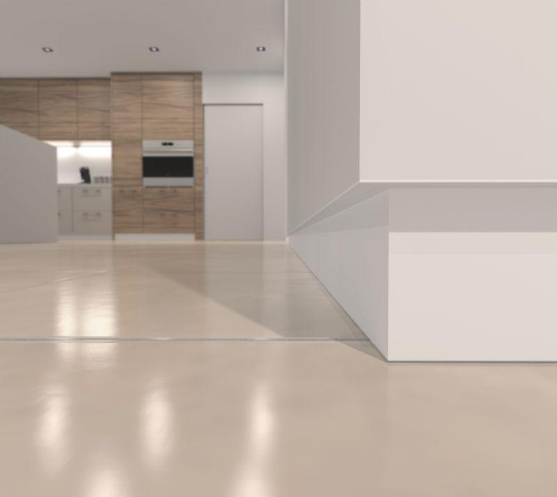 Keuken met onzichtbare plint