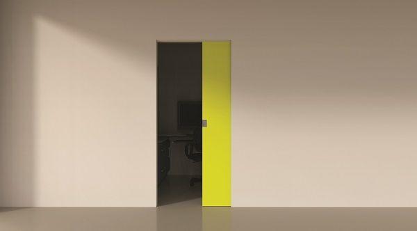 Invisidoor SD(X): onzichtbare aluminium kaders voor schuif-in-de-wand deuren